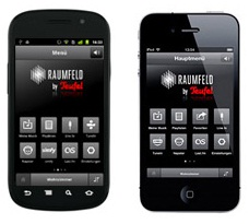 Raumfeld App für Android & iOS
